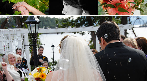Arbutus Wedding Photographs in Victoria, BC